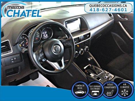 Mazda CX-5 GS AWD - TOIT OUVRANT - SIÈGES CHAUFFANTS - CAMÉRA 2016