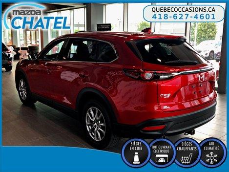 2017 Mazda CX-9 GS-L AWD - CUIR - TOIT OUVRANT - SIÈGES CHAUFFANTS