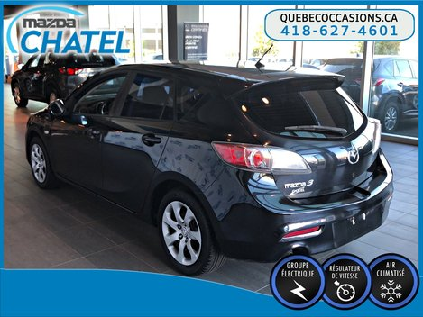 Mazda3 Sport GX - MANUELLE - A/C - GR ÉLECTRIQUE 2010