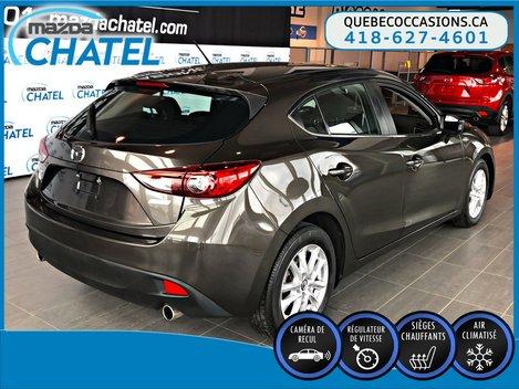Mazda3 Sport GS - SIÈGES CHAUFFANTS - CAMÉRA - CRUISE 2014