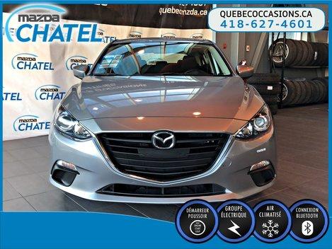 Mazda Mazda3 Sport GX - BLUETOOTH - MANUELLE - A/C 2015
