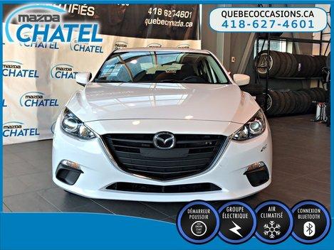 Mazda Mazda3 Sport GX - MANUELLE - A/C - BLUETOOTH 2015
