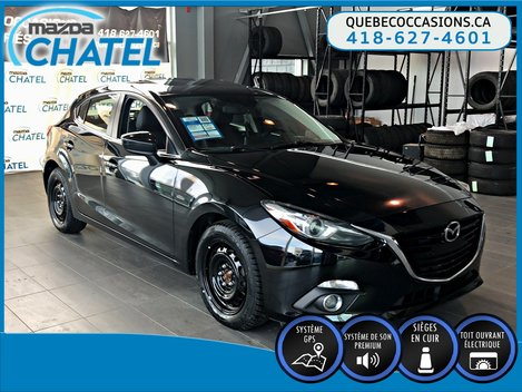 2015  Mazda3 Sport GT - MANUELLE - CUIR - TOIT OUVRANT