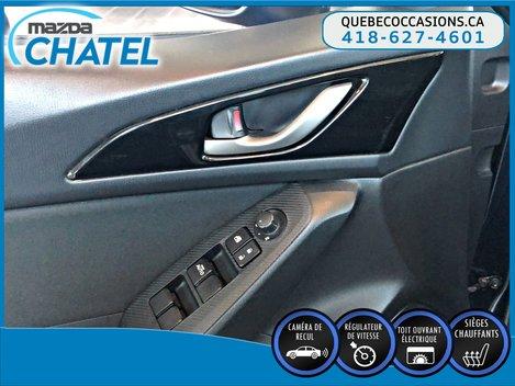 Mazda3 Sport GS - TOIT OUVRANT - CAMÉRA - SIEGES CHAUFFANTS 2015