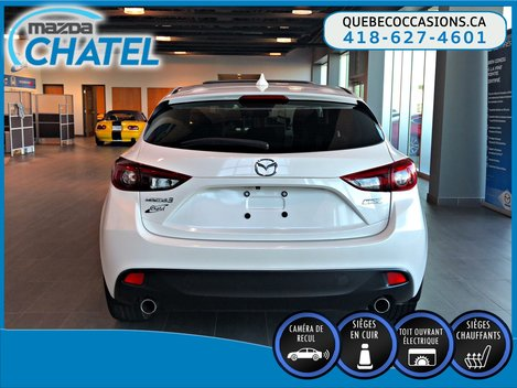 Mazda Mazda3 Sport GT - CUIR - TOIT OUVRANT - SIEGES CHAUFFANTS 2016