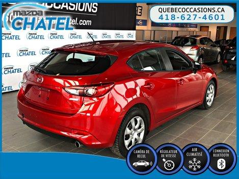 Mazda3 Sport GX - CAMÉRA - CRUISE - BLUETOOTH 2017