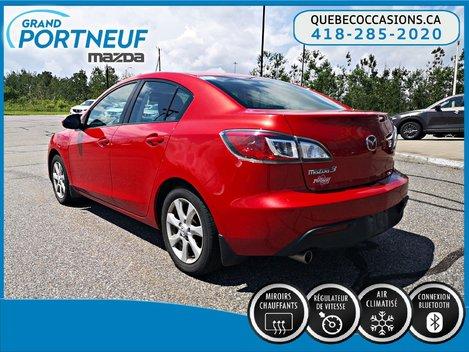 2011  Mazda3 GS - BLUETOOTH - A/C - AUDIO AU VOLANT