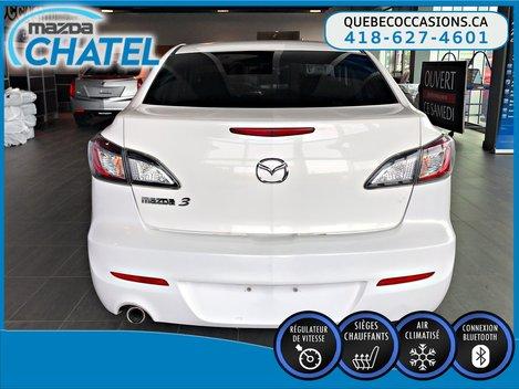 2012  Mazda3 GS-SKY - SIÈGES CHAUFFANTS - CRUISE - BLUETOOTH