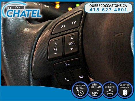 Mazda3 GS - SIEGES CHAUFFANTS - CAMÉRA - CRUISE 2015