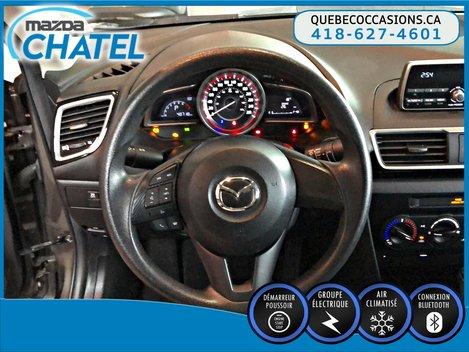 Mazda Mazda3 GX - AUTO A/C - BLUETOOTH 2015