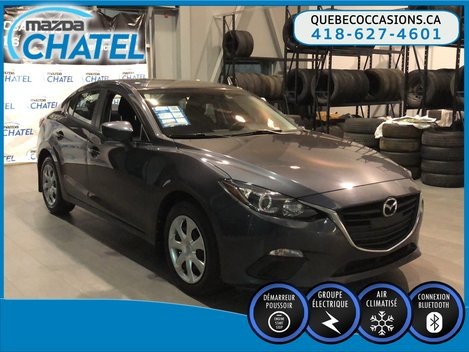 Mazda3 GX - AUTO - A/C - BLUETOOTH 2015