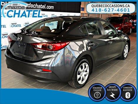 Mazda3 GX - MANUELLE - BLUETOOTH 2015