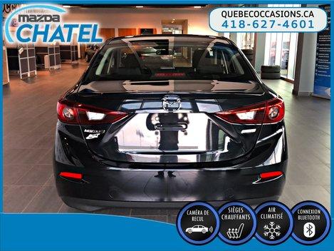 2015  Mazda3 GS - SIÈGES CHAUFFANTS - CAMÉRA - CRUISE