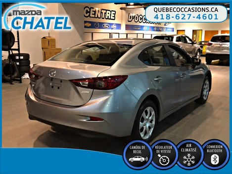 Mazda Mazda3 GX - CAMÉRA - BLUETOOTH - A/C 2016