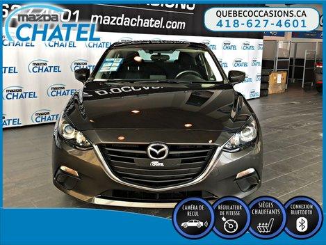 Mazda Mazda3 GS - SIEGES CHAUFFANTS - CAMÉRA - CRUISE 2016
