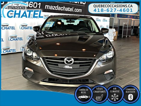 2016  Mazda3 GS - CAMÉRA - SIEGES CHAUFFANTS - MAGS