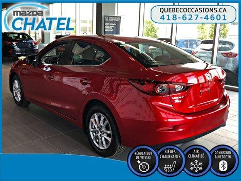 Mazda3 GS - SIÈGES CHAUFFANTS - CAMÉRA - BLUETOOTH 2016