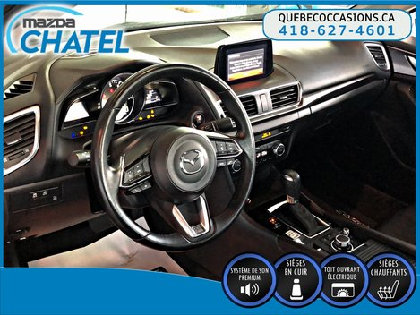 Mazda3 GT - CUIR - BOSE - TOIT OUVRANT 2017