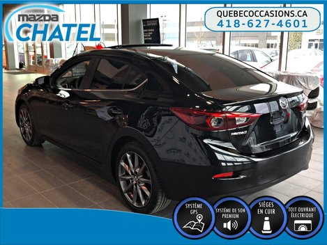Mazda3 GT - GPS - BOSE - CUIR - TOIT OUVRANT 2018
