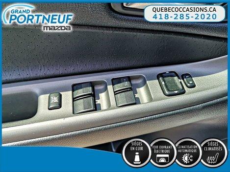 2004  Mazda6 GT - V6 - MANUELLE - SIÈGES ÉLECTRIQUE - CUIR