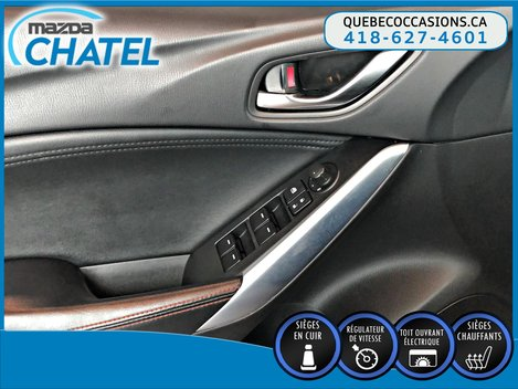 Mazda6 GS-L - TOIT OUVRANT- SIEGES CHAUFFANTS- BLUETOOTH 2015