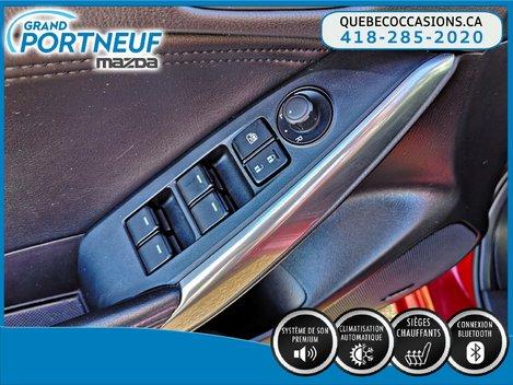 2015  Mazda6 GT - CLIM.  2 ZONES - NAVIGATION - SYSTÈME BOSE