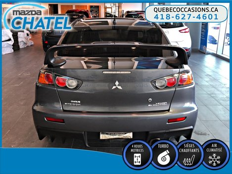 Mitsubishi Lancer EVOLUTION MR - AWD - BAS KILOMÉTRAGE - 2009