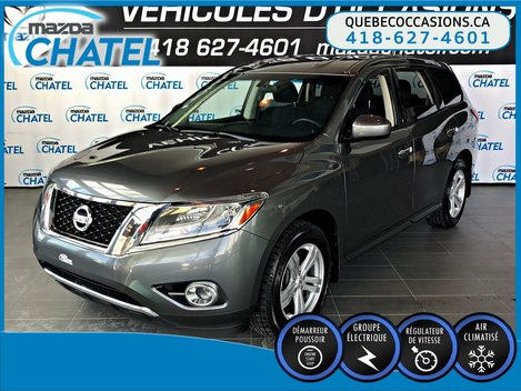 2015 Nissan Pathfinder S AWD - CRUISE - HITCH - 7 PASSAGERS