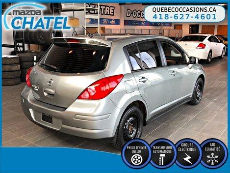 Nissan Versa S - AUTO - A/C - PNEUS D'HIVER 2012