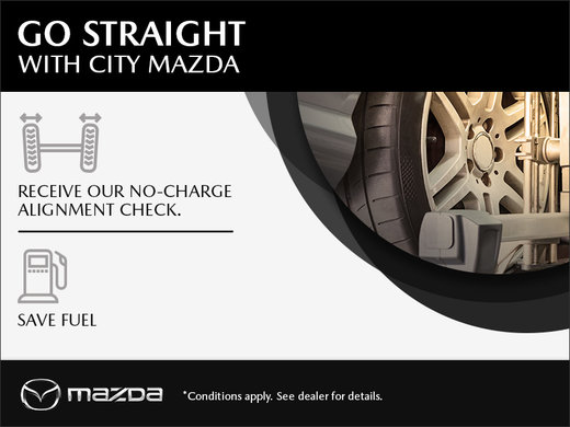 Go Straight With City Mazda!