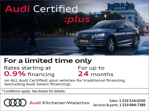 Special Offers | Audi Kitchener-Waterloo
