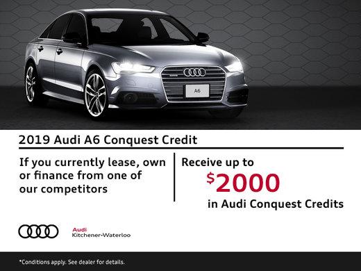 A6 Conquest Credit