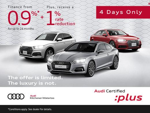 Audi CPO Sales Event