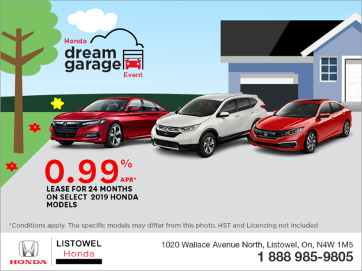 Honda Dream Garage Event