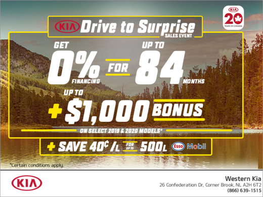 The Kia Drive to Surprise Sales Event!