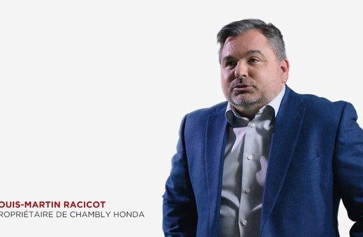 Louis-Martin Racicot pour Chambly Honda