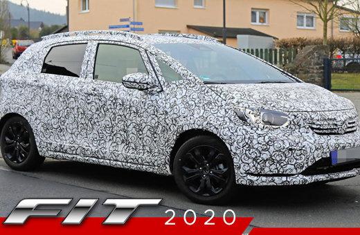 Redessinée et revampée la Honda Fit 2020