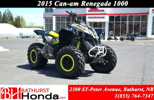 2015 Can-Am Renegade 1000