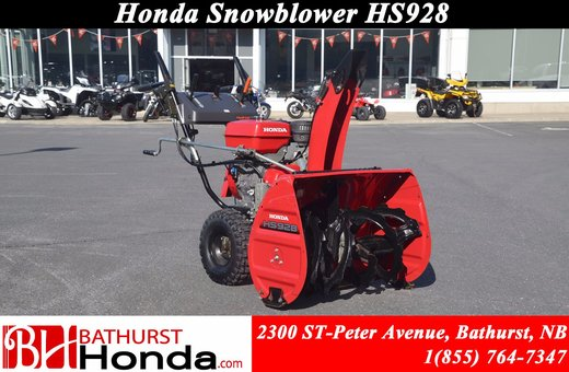 2006 Honda Power Equipment HSS928 Snowblower