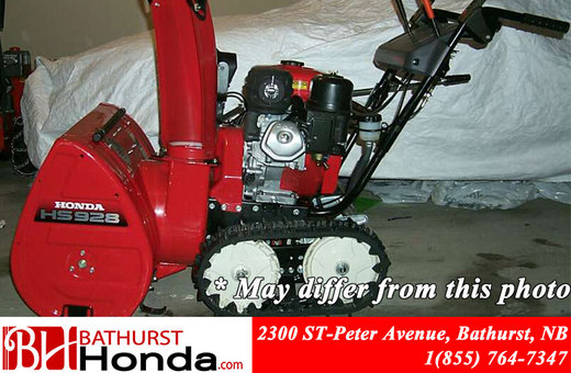 Honda Power Equipment HSS928TC Snowblower 2008