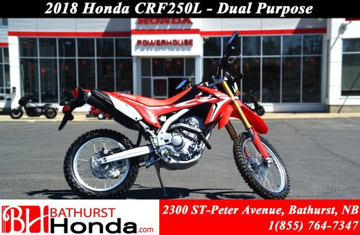 New 2018 Honda Crf250l At Bathurst Honda B8836