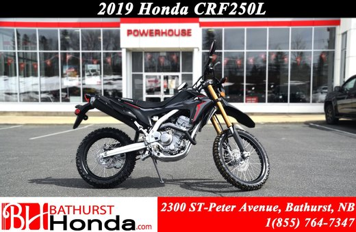 New 2019 Honda Crf250l At Bathurst Honda B9143