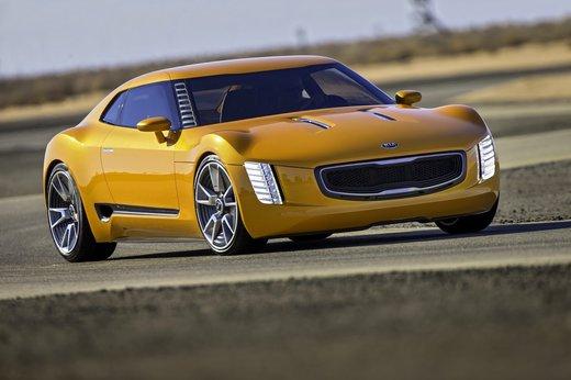 GT4 Stinger de Kia. NAIAS 2014