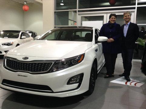 Nouvelle optima hybrid 2016