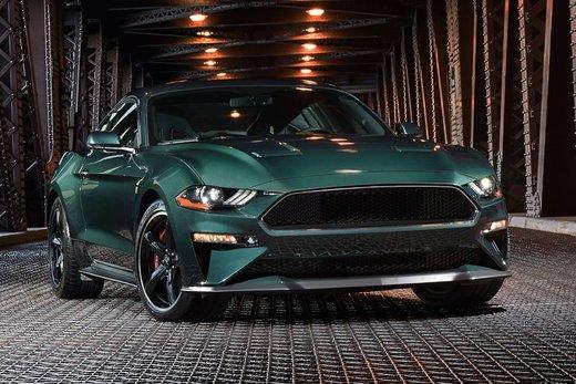 Le retour de la Mustang Bullit !