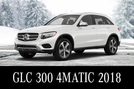Solde de démos GLC 300 2018 : 565$/mois Location 45 mois