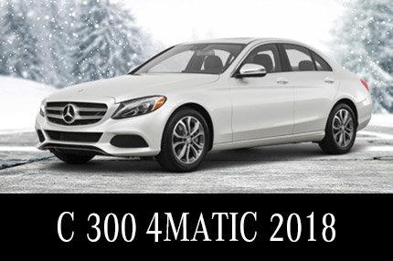 Solde de démos Classe C 300 2018 - Location 45 mois à 489$/mois