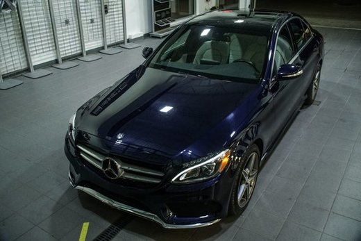 C300 2015 55451km Bleu Cavansite