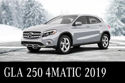 Solde de démos GLA 250 4MATIC 2019