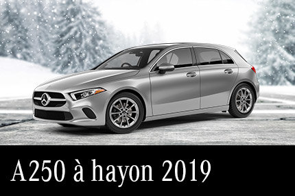 Solde de démos A250 à hayon 2019